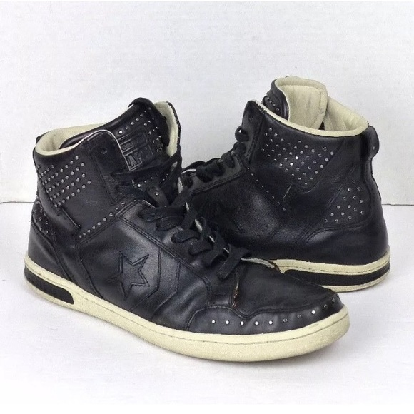 28ba61e9f477ce Converse Other - Converse John Varvatos Weapon Leather Stud Sneaker